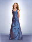 Discount Bill Levkoff Flower Blue Girl Dresses Style  53002