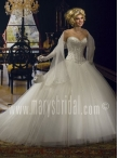 Discount Marys Bridal The Unspoken Romance Collection Style F08 8653