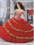 Discount 2014 Marys Quinceanera Dresses Style MAYS022