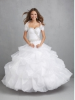 Discount Brand New Sweetheart White Sweet 15 Dress with Beading 2015 NTME018