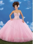 Discount Luxurious Sweetheart Baby Pink 2015 Quinceanera Dresses with Beading MRYS041