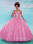Discount Elegant Ball Gown Sweetheart Quinceanera Gowns in Rose Pink MRSY029